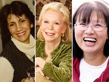 Ivelise Markovits, Louise Hay and Betty Chinn