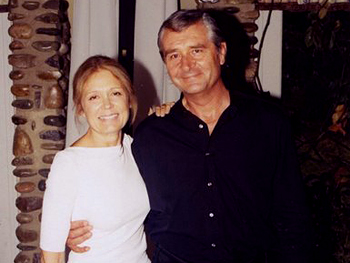 Gloria Steinem with David Bale