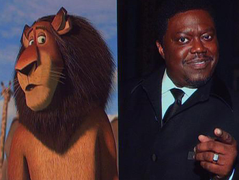 Bernie Mac plays Zuba, king of the lions.