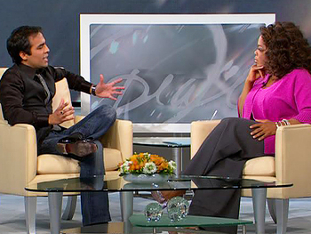 Gurbkash talks with Oprah
