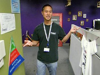 Tony Hsieh at Zappos.com