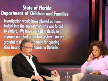 Florida's Department of Children and Family Services issues a statement.