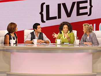 Gayle, Mark, Oprah and Ali