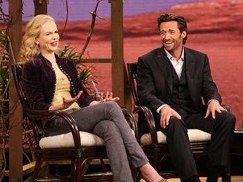 Nicole Kidman and Hugh Jackman talk about their love scenes.