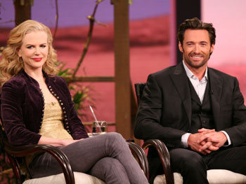 Brandon Walters with Nicole Kidman and Hugh Jackman