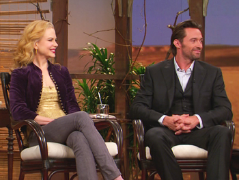 Hugh Jackman and Nicole Kidman