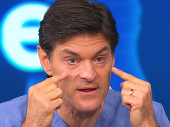 Dr. Oz explains what causes puffy eyes.