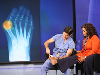 Dr. Oz explains what causes bunions.