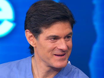 Dr. Oz talks about his beauty book, YOU: Being Beautiful.