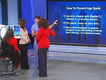 Dr. Oz explains the three things you can do for your skin.