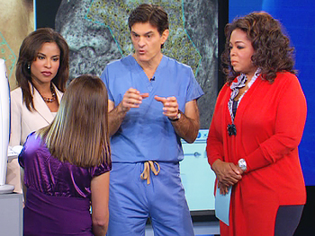 Dr. Oz recommends the best foods for healthy skin.