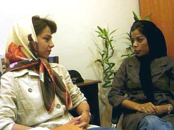 Naeimeh and Sahar discuss nose jobs.