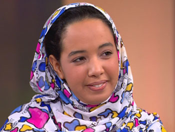 Houda, a woman from Mauritania