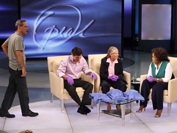 Dean, Dr. Oz, Dr. Jill Bolte Taylor and Oprah