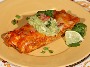 Cristina Ferrare's Chicken Enchiladas