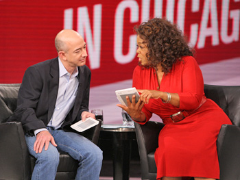 Jeff Bezos and Oprah