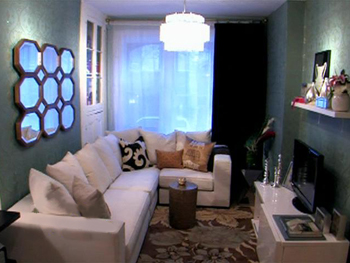 Marin's new living room