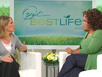 Elizabeth Lesser and Oprah discuss the difference between spirituality and religion.