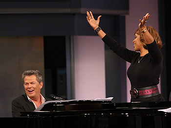 David Foster and Gayle King