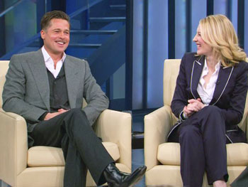 Brad Pitt and Cate Blanchett