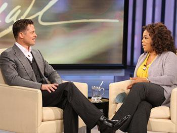 Brad Pitt and Oprah