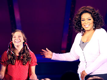 Taylor and Oprah yodel.
