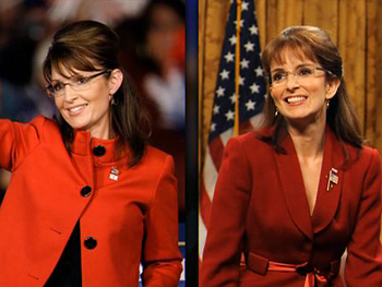 Tina Fey and Governor Sarah Palin