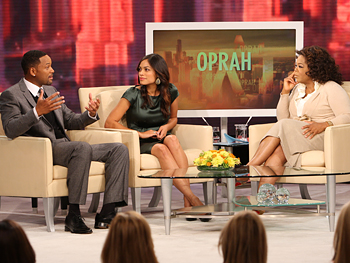 Will Smith, Rosario Dawson and Oprah