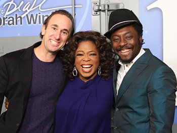 Oprah, Will.i.am and his lawyer