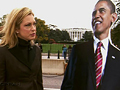 Ali Wentworth and Barack Obama tour Washington.