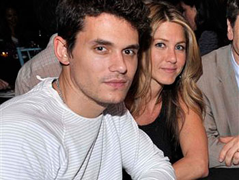 Jennifer Aniston and Jon Mayer