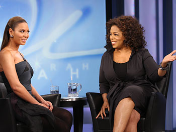 Beyonce and Oprah