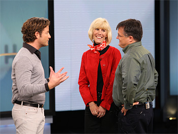 Nate and Oprah surprise Joan and Ken with a makeover.