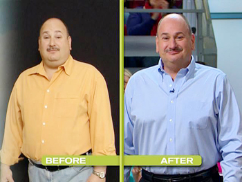 Frank and Elaine have lost a combined 120 pounds.