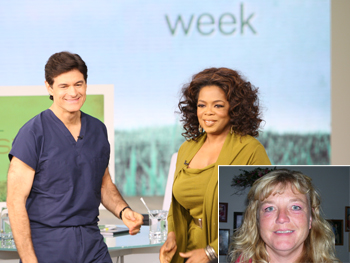 Dr. Oz, Oprah and Laura Plummer