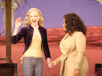 Nicole Kidman and Oprah