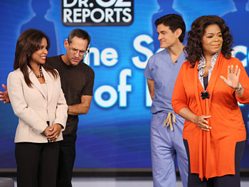 Dean, Dr. Lisa Evans, Dr. Oz and Oprah