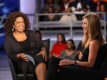 Oprah and Jennifer Aniston