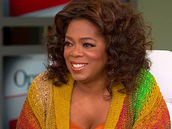 Oprah discusses the inauguration.