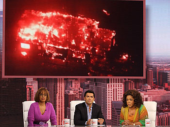 Oprah, Mark Consuelos and Gayle King