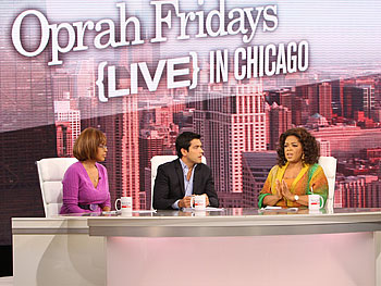 Oprah, Mark Consuelos and Gayle King discuss the passage of Proposition 8.