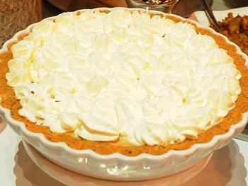 Cristina Ferrare's pumpkin chiffon pie