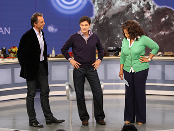 Dan Buettner, Dr. Oz and Oprah