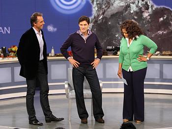 Dan Buettner, Dr. Oz and Oprah
