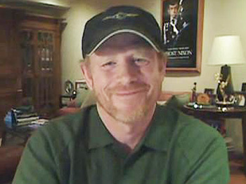 Ron Howard talks about his Obama endorsement video on FunnyorDie.com.