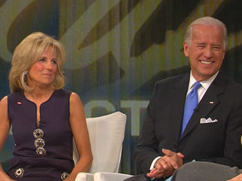 Vice President-elect Joe Biden and his wife, Jill