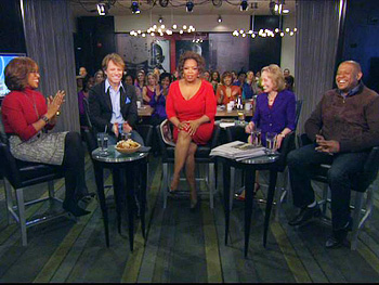 Gayle King, Jon Bon Jovi, Oprah, Doris Kearns Goodwin and Forest Whitaker
