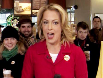 Ali Wentworth talks about Starbuck's new pledge program.