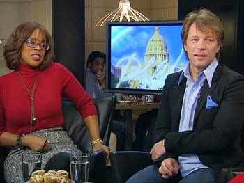 Forest Whitaker, Jon Bon Jovi and Gayle King share their memorable moments from the inauguration.