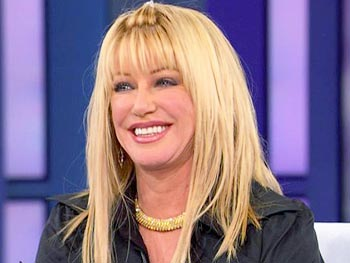 Suzanne Somers is a proponent of bioidentical hormones.
